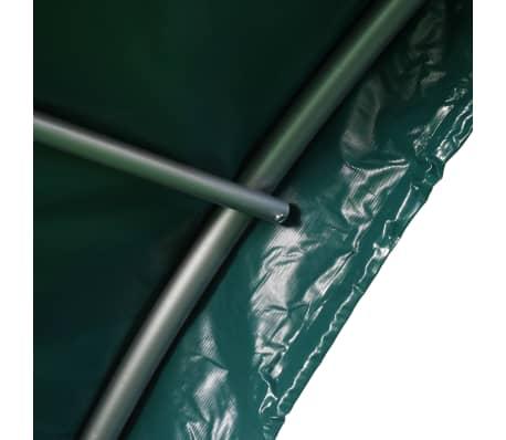 vidaXL Namiot dla bydła, PVC, 3,7 x 3,7 m, zielony