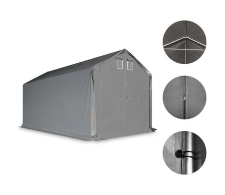 vidaXL Opslagtent 3x6 m PVC grijs