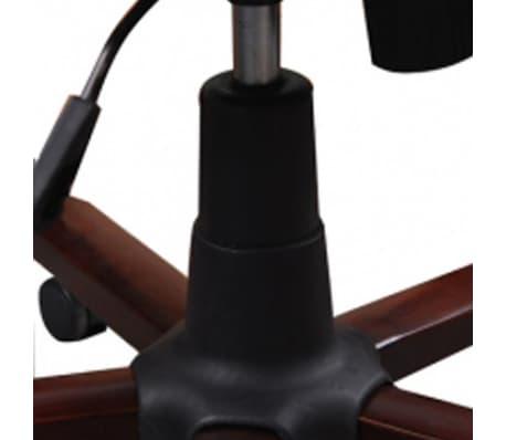 Prabangi biuro kėdė, juoda[5/5]