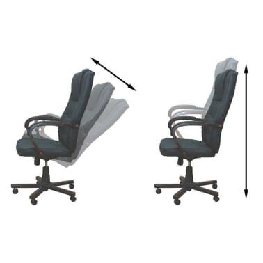 Prabangi biuro kėdė, juoda[4/5]