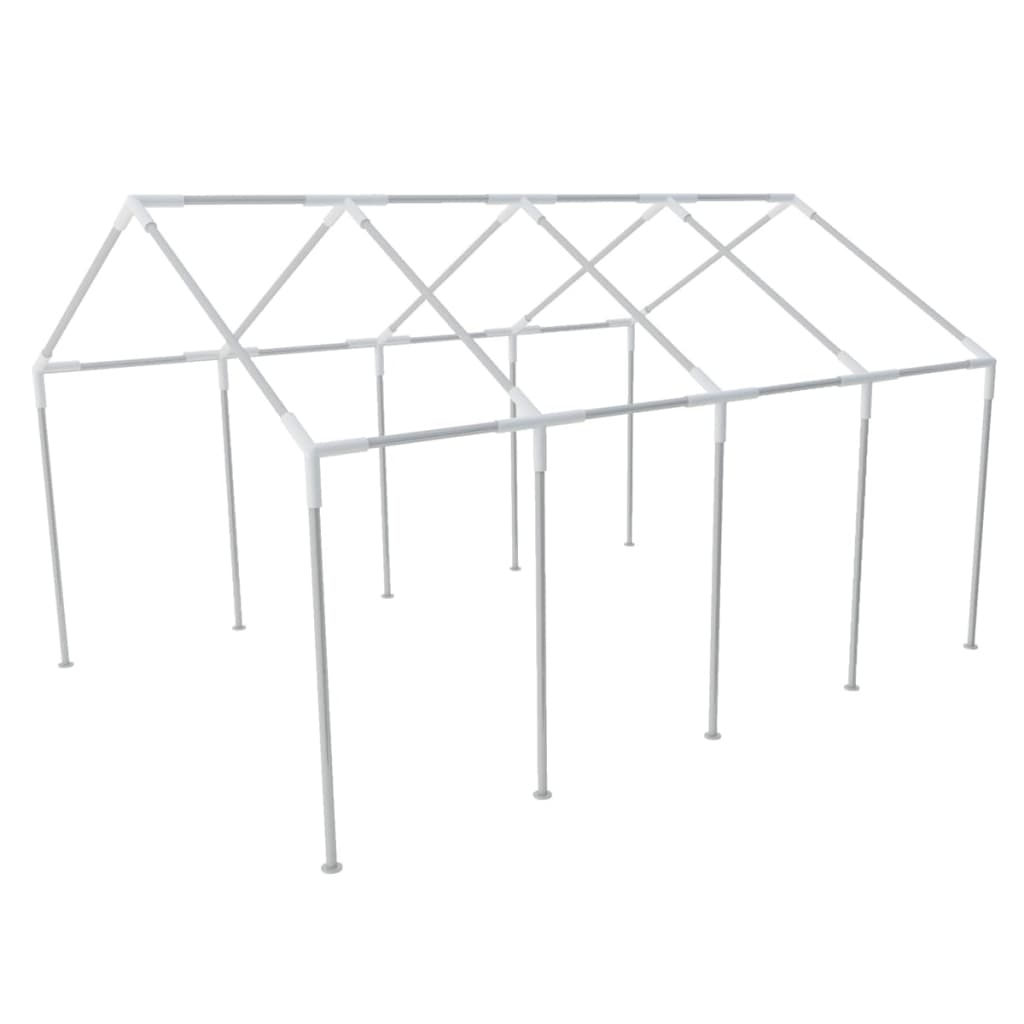 Cadru din oțel pentru cort pentru petreceri 8 x 4 m vidaxl.ro