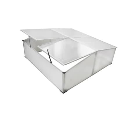 Mini invernadero de policarbonato 108 x 41 x 110 cm / 4 tapas[1/5]