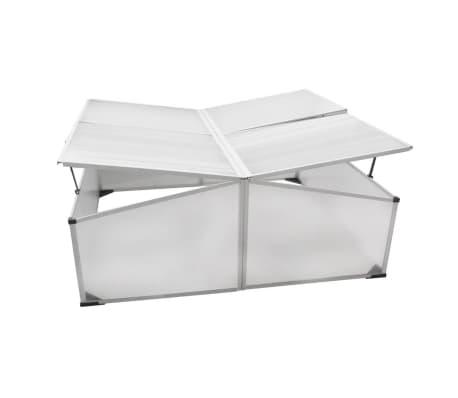 Mini invernadero de policarbonato 108 x 41 x 110 cm / 4 tapas[3/5]