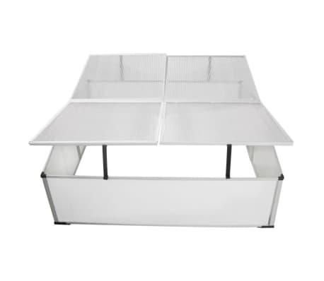 Mini invernadero de policarbonato 108 x 41 x 110 cm / 4 tapas[4/5]