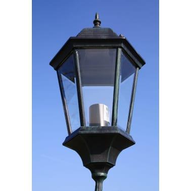 Farola de jardín verde oscura/negra de 230 cm, 3 luces[2/9]