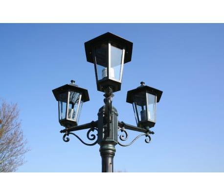 Preston Στύλος Φωτισμού Κήπου 3-φωτος Πράσινος 215 εκ.[2/9]