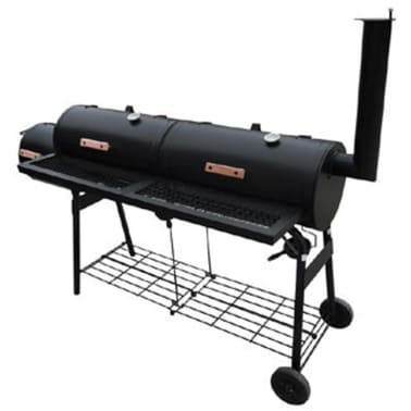 vidaXL Smoker BBQ Nevada XL Black[1/3]