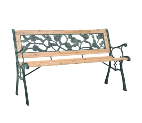 "vidaXL Garden Bench 48"" Wood"
