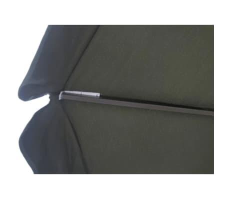Parasol Samos 500 cm. Aluminium Green[4/5]