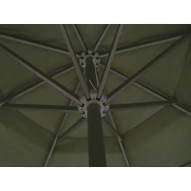 Parasol Samos 500 cm. Aluminium Green[3/5]