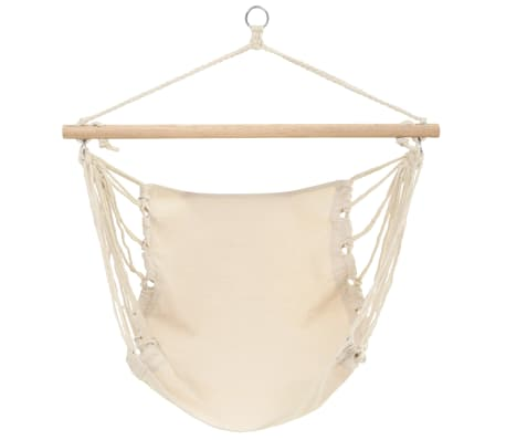 "Hammock Chair Cream 39.4""x31.5""[1/4]"