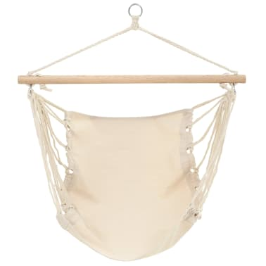 "Hammock Chair Cream 39.4""x31.5""[1/2]"