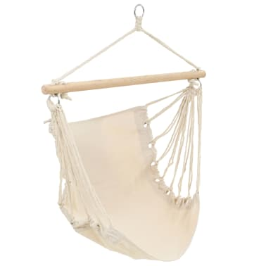 "Hammock Chair Cream 39.4""x31.5""[2/4]"