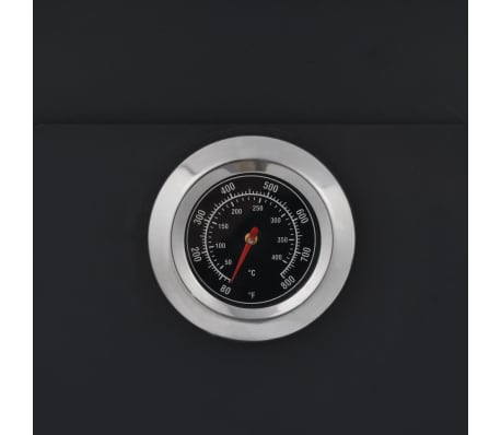 vidaXL Outdoor Pizza Oven Charcoal Fired with 2 Fireclay Stones[8/9]