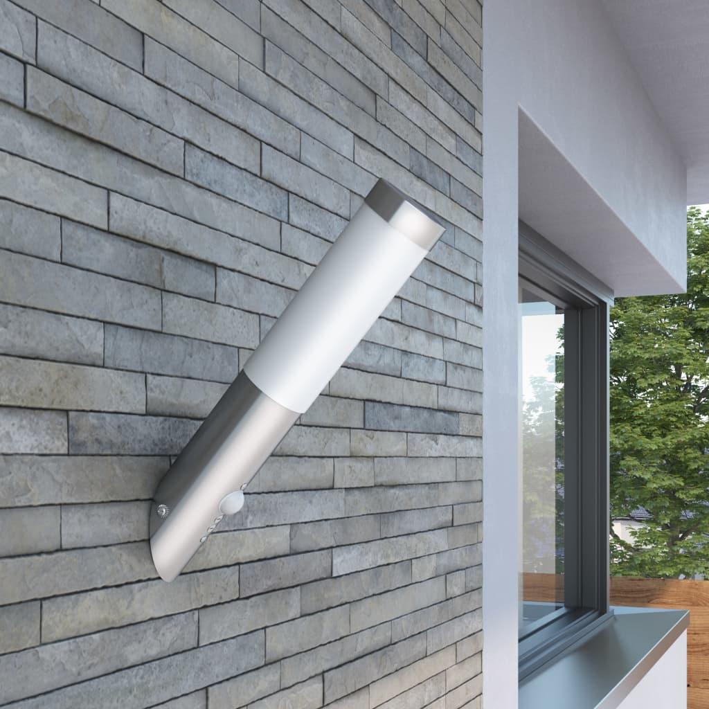 Nástěnné zahradní svítidlo - vodotěsné s pohybovým čidlem
