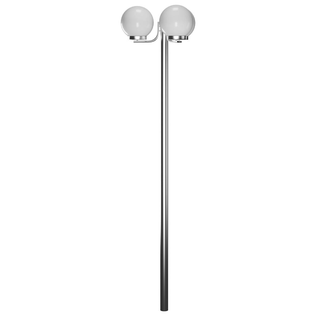 Zahradní lampa, kandelábr na 3 žárovky 220 cm