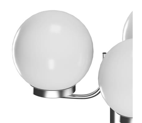 Latarnia ogrodowa o wysokości 220 cm z 3 lampami[3/5]