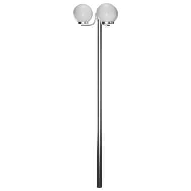Latarnia ogrodowa o wysokości 220 cm z 3 lampami[2/5]