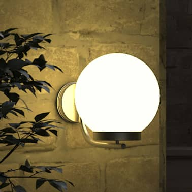 Lampa ogrodowa ścienna - wysokość 32 cm[3/6]