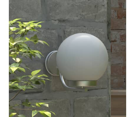 Lampa ogrodowa ścienna - wysokość 32 cm[1/6]