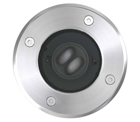 Nedgravede havelamper 3 stk. runde[5/10]