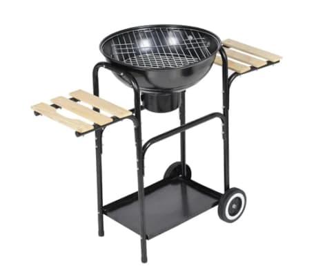 vidaxl barbecue grill bbq kugelgrill holzkohlegrill grillwagen standgrill 40448 ebay. Black Bedroom Furniture Sets. Home Design Ideas