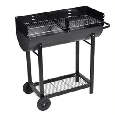 Barbecue braciere con griglia a legna e carbone[1/4]