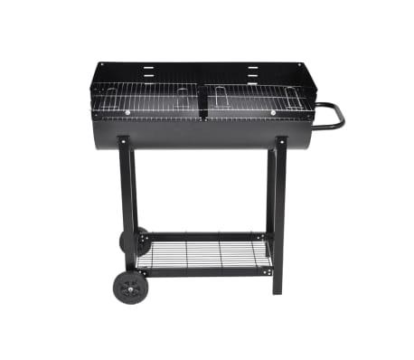 Barbecue braciere con griglia a legna e carbone[2/4]