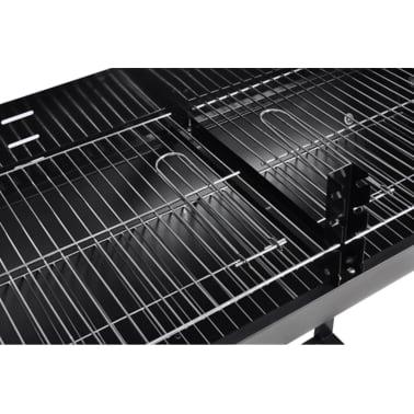 Barbecue braciere con griglia a legna e carbone[3/4]