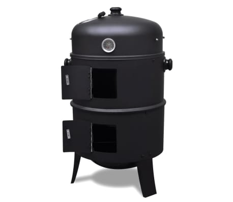 vidaXL Smoker Kolgrill Iowa[3/7]