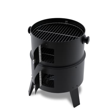 vidaXL Smoker Kolgrill Iowa[5/7]