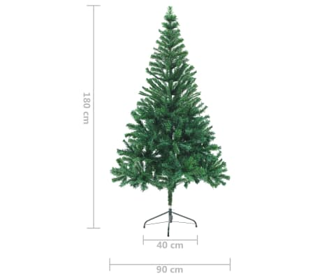 "vidaXL Artificial Christmas Tree 70.9""[7/7]"
