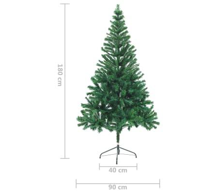 vidaXL Künstlicher Weihnachtsbaum 180 cm[7/7]