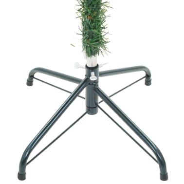 vidaXL kunstigt juletræ med grankogler 180 cm[6/7]