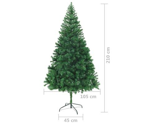 vidaxl k nstlicher weihnachtsbaum mit dicken zweigen 210 cm g nstig kaufen. Black Bedroom Furniture Sets. Home Design Ideas