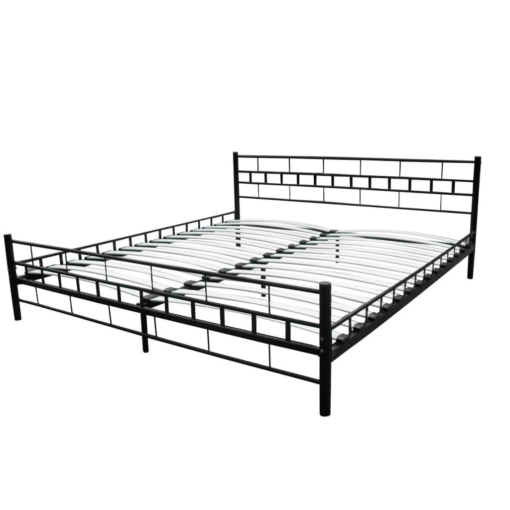 Velký postelový kovový rám 180 x 200cm