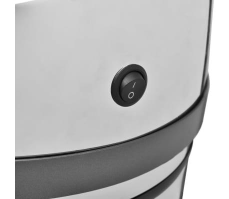 vidaXL Automatisk soptunna med sensor (50 liter)[2/5]