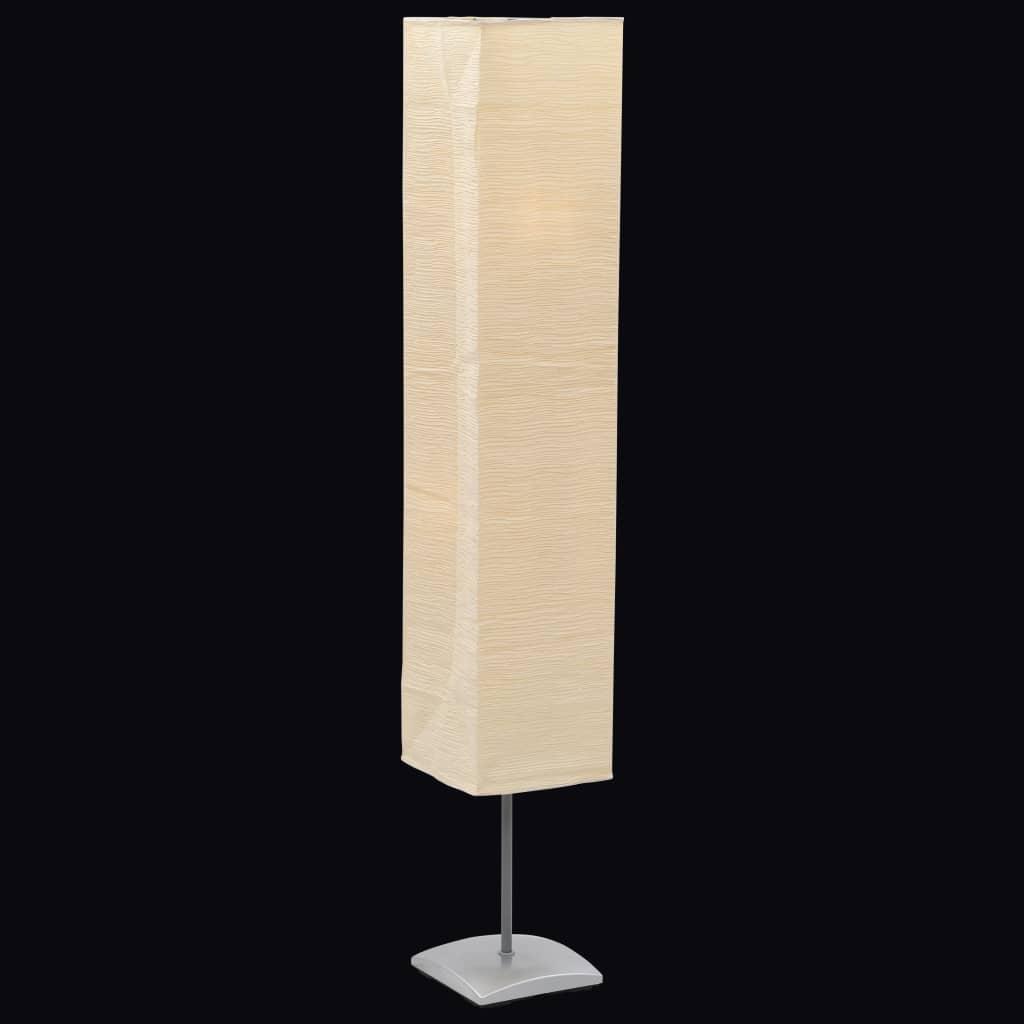 Comwinkel Vloerlamp met papieren lampenkap 135 cm