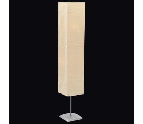Lampada piantana da terra moderna 1,35 m. in carta di riso.[1/6]