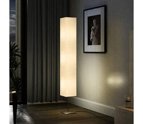 lampe de salon sur pied alu 170 cm. Black Bedroom Furniture Sets. Home Design Ideas