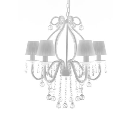 Lustre néo baroque plafonnier 6 feux 2300 pampilles cristal[5/8]