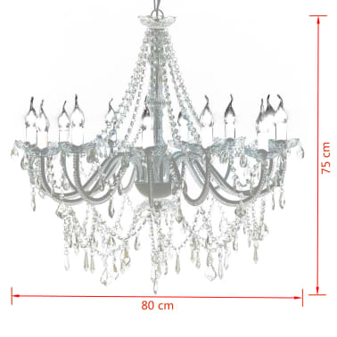Chandelier with 1600 Crystals[6/8]