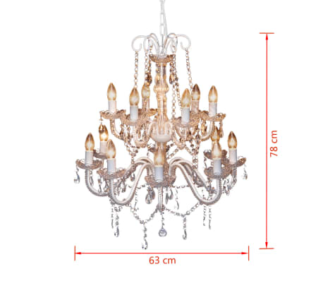 kristall kronleuchter mit 900 echten glas kristallen im vidaxl trendshop. Black Bedroom Furniture Sets. Home Design Ideas