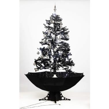 Snowing Christmas Tree 170 cm[1/6] - Snowing Christmas Tree 170 Cm VidaXL.co.uk