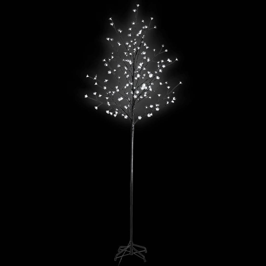 Kvetoucí třešeň strom s LED bílými světly a dálkovým ovládáním
