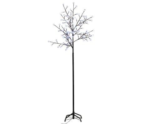 Õitsev LED puu sinise valgusega 210 cm[2/4]
