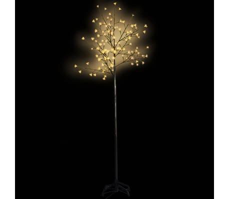 Õitsev LED puu kollase valgusega 210 cm[1/3]