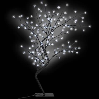vidaXL Arbre de Noël LED blanche Cerisier en fleurs 120 cm[1/6]