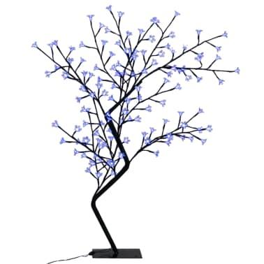 vidaXL Weihnachtsbaum LED Blaues Licht Kirschblüte 120 cm[2/6]