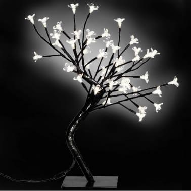 2 õitsvat LED puud valgete tuledega[1/3]